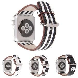 For Apple Watch Genuine Leathe