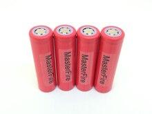 MasterFire 8PCS/LOT 100% Original Sanyo 18650 3.7V 2600mAh UR18650ZY Lithium Battery Rechargeable Batteries