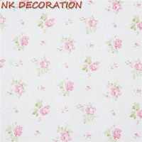 NK DECORATION 5m 10m Background Wall Floral Wallpaper PVC Wall Covering Classic Flower For Living Room
