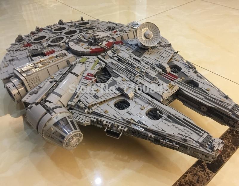 DHL Star Wars Star Destroyer Millennium Falcon compatible ...