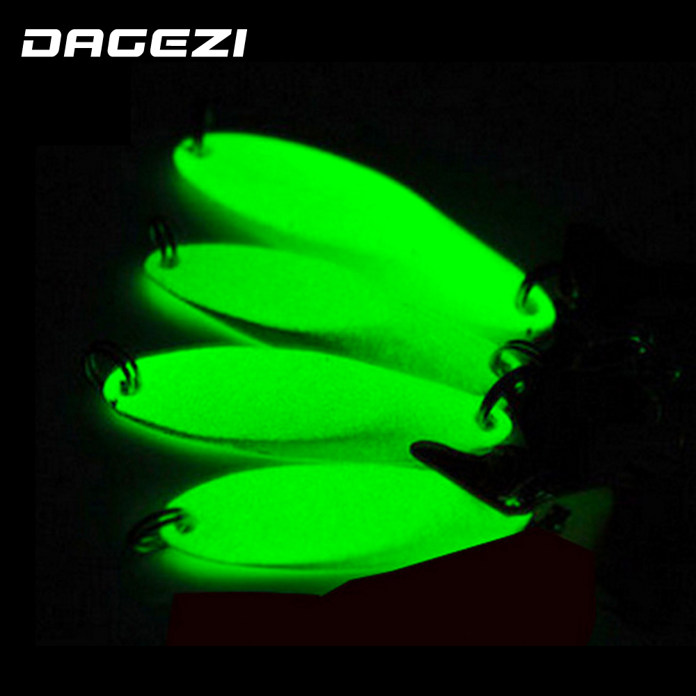 DAGEZI hard metal hard lure luminous minnow popper crank bait metal sequins winter fishing lure hook sea fishing tackle 30pcs set fishing lure kit hard spoon metal frog minnow jig head fishing artificial baits tackle accessories