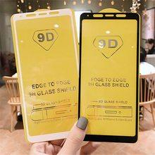 5D/9D Voor Samsung Galaxy A5 A6 A7 A8 J2pro plus 2018 A750 Gehard Glas Voor J2 pro 2018 screen Protector Volledige Cover Glas Film