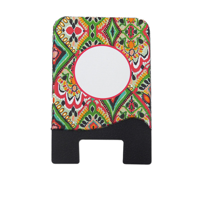 wholesale blanks lilly card case silicane paisley id card holder gift cards holder with glue free - Gift Card Holders Wholesale