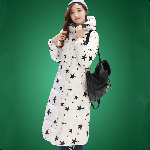 ФОТО 2017 New Winter Jacket Fashion Women Long Coat Big Size Parka Ladies Hooded Warm Outerwear