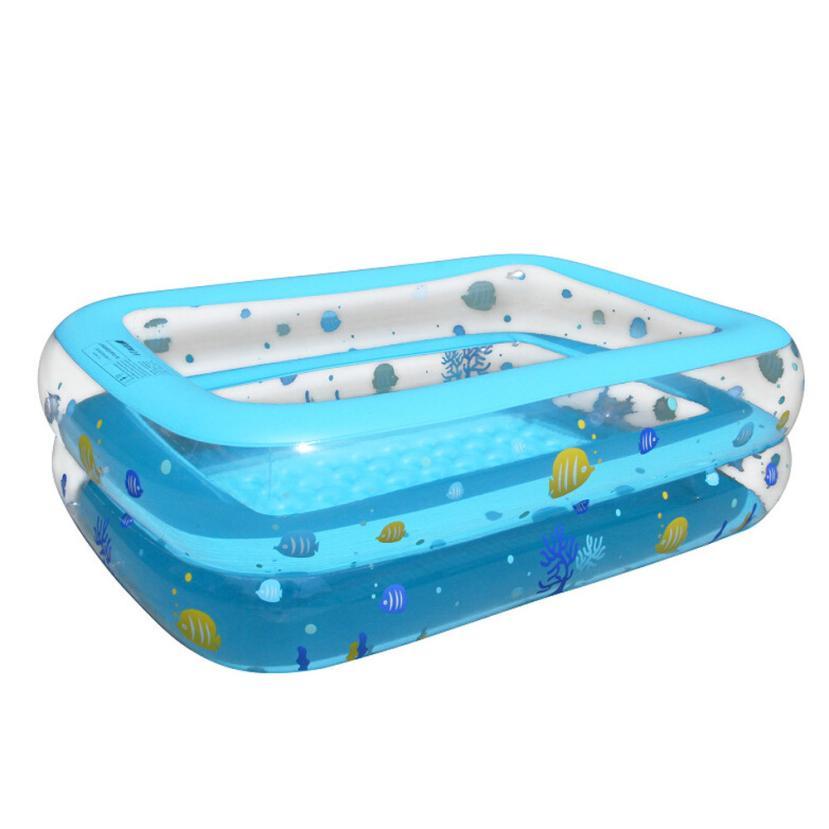 Mooistar #4014 большие надувные Бассейны центр Lounge Семья дети воды весело играть дворе игрушка 130*90*50 см