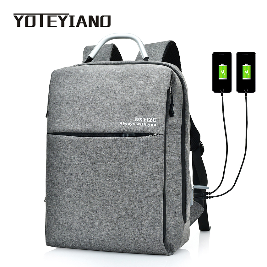 YOTEYIANO Business Laptop Backpack Large Capacity Canvas Rucksack Womens Work Knapsack Travel Satchel Student School Bag kundui backpack luggage pu student bags new fashion school bag vintage cute man book satchel campus women knapsack rucksack