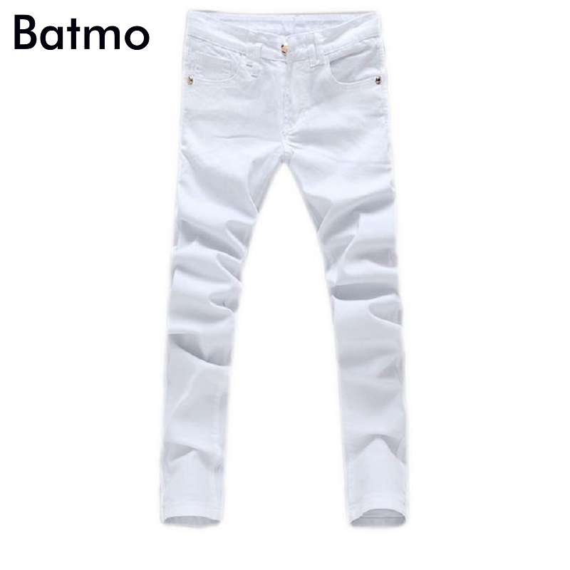 High quality! 2017 new arrival white men's jeans,Fashion jeans men calca jeans 100% cotton men trousers hot sell high quality 2017 new brand men jeans painted print jeans fashion jeans men calca jeans dsq 100