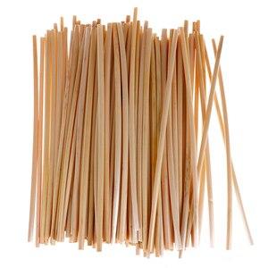 100 шт./упак. кухонные принадлежности 20 см из пшеничной соломы, Экологически чистая солома, оптовая продажа