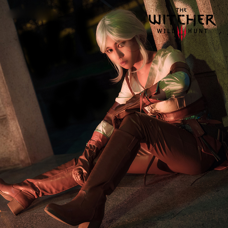 Jeu Cirilla Fiona Elen Riannon Cosplay Costume ensemble complet The Witcher 3 sauvage chasse Ciri femmes vêtements Kit Halloween carnaval
