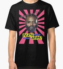 Смерть Ручки рулевые для мотоциклов-не люблю desu веб-Для мужчин черный топы, футболки Костюмы