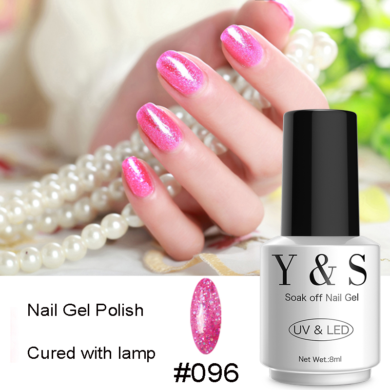 Gel Nail Polish Sale: Y&S 1pcs Glitter Nail Gel Polish Hot Sale DIY Nail Art