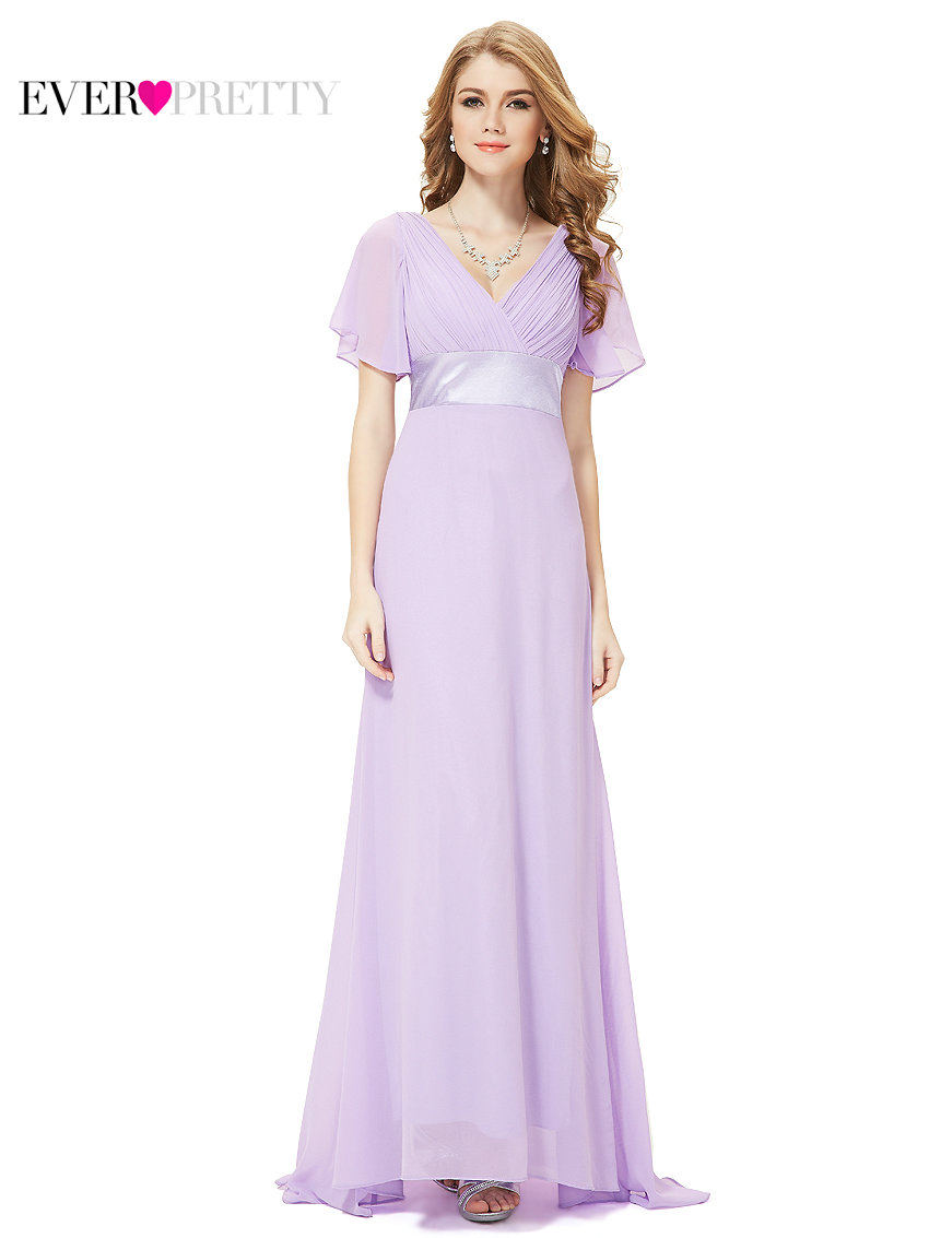 Clearance Sale Bridesmaid Dresses He09890 Padded Sleeve