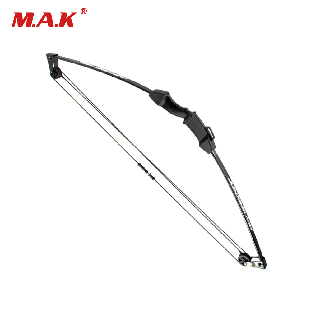32 Inches Children Compound Bow Draw Weight 8-12 Lbs for Archery Practice Competition Games Bow Target Hunting Shooting 55 hanks white stallion violin bow hair 6 grams each hank in 32 inches
