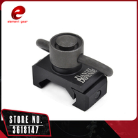 Element Quick Release Detach Push Button Rail Mount QD Swivel Adapter Set Picatinny Rail Mount Base 20mm Attachment Point CY600