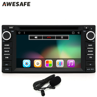 Double Din 6 0Android Car Radio DVD Universal Player Support Wifi Bluetooth GPS Navigation Multifunction DVD