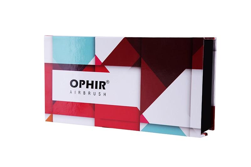 Zestaw aerografu OPHIR Pro z kompresorem Airbrushing do dekorowania - Elektronarzędzia - Zdjęcie 5