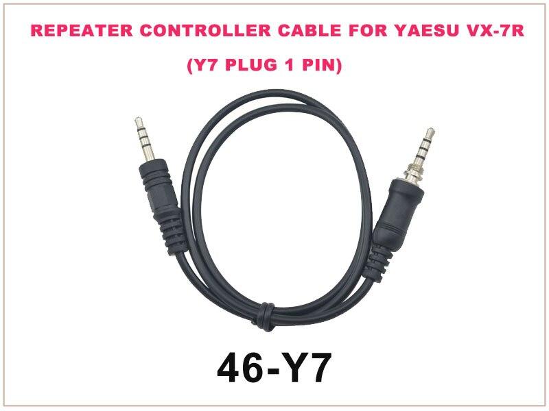 46-Y7 Repeater Controller Cable FOR YAESU VX-7R (Y7 Plug 1 Pin)