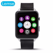 Pulsmesser bluetooth wasserdicht smart watch gt88 smartwatch unterstützung sim-karte für ios android pk apple watch