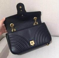 Hot selling!!!2019 new fashion women handbag high quality marmont bag free shipping