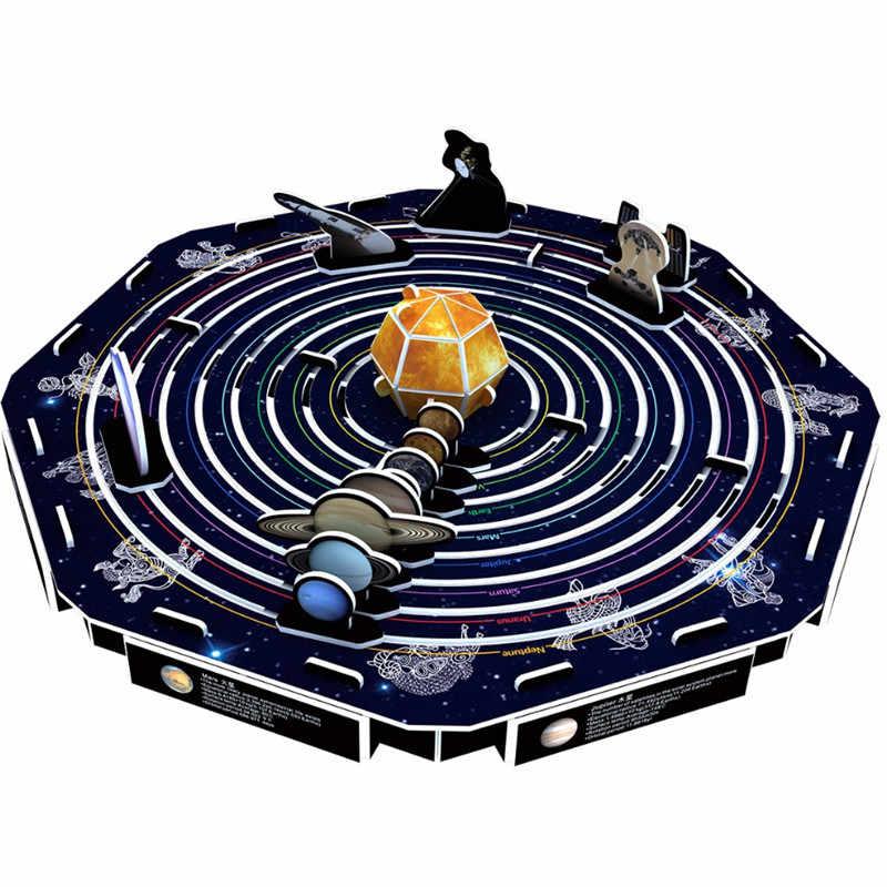 Classic 3D Jigsaw Puzzle Solar System Mars Mercury Earth