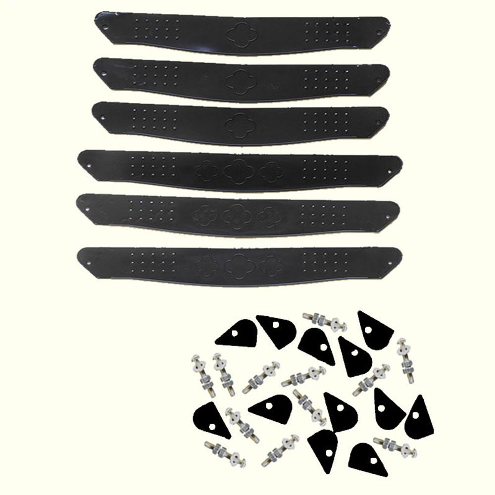Подножка для детской коляски, подножка для ног, пластиковая черная Подножка для детской коляски, аксессуары для детской коляски, противоскользящая детская коляска - Цвет: large