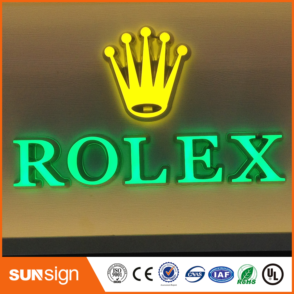 3D Lighting Acrylic Mini LED Channel Letter Sign / Bending Machine Making Acrylic face Lighting Letters  honda s2000 stop lights