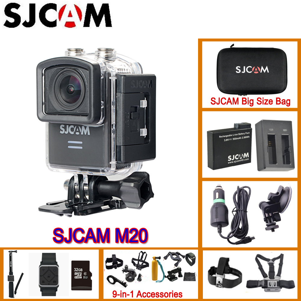 SJCAM M20 Action Camera Sport SJ Cam Underwater 4K Wifi Gyro Mini Camcorder 2160P HD 16MP