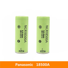2 قطعة 3.7 فولت 18500 2040mah الأصلي لباناسونيك NCR18500A 3.6 فولت بطارية لعبة الشعلة مصباح يدوي إلخ