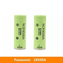 2 Pcs 3.7V 18500 2040 MAh Chính Hãng Cho Máy Panasonic NCR18500A 3.6V Cho Đồ Chơi Đèn Pin Đèn Pin V. V.