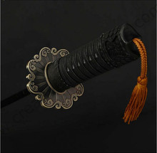 105cm dia upgraded three fold auto open&auto close Samurai sword katana umbrella Wolverine golden plated windproof spike parasol