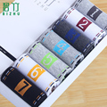 Bi Zhu Macho calcetines MoChuan calcetín semana creativa siete días calcetines en la primavera, verano, verano bajo el cilindro para calcetines de algodón