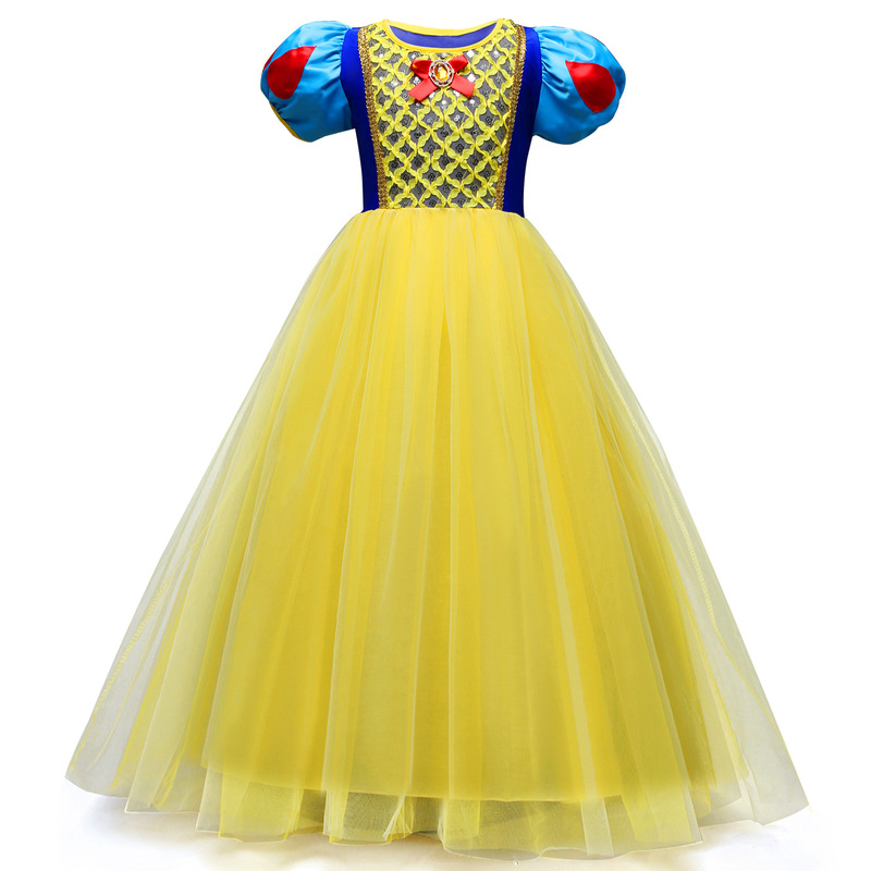 Princess Snow White Dress for Girls Pageant Ball Gowns Birthday Party Clothes Kids Girls Snow White CostumesPrincess Snow White Dress for Girls Pageant Ball Gowns Birthday Party Clothes Kids Girls Snow White Costumes