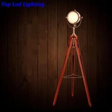 CAIJ Vintage Loft Copper Iron Wood Led E27 For Living Room Bedroom  Restaurant Metal