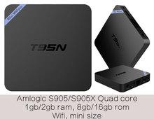 10pcs T95N Amlogic S905X Quad core Smart Android6 0 LIVE font b TV b font Streaming