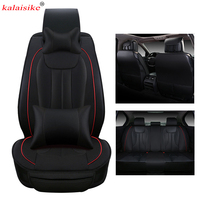 kalaisike leather Universal Car Seat Covers for Mazda all models cx7 mazda 2 3 5 6 cx 5 MX 5 cx 3 cx 9 car accessorie styling