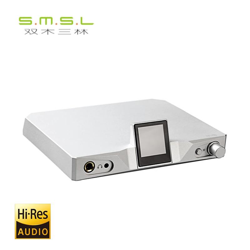 SMSL M9 DSD512 XMOS DAC Balanced Headphone Amplifier HIFI EXQUIS 32bit/768kHz USB Decoder Earphone Amp S.M.S.L. smsl m6 hifi audio decoder headphone amplifier dac amp 32bit 768khz support dsd512 dac ak4452