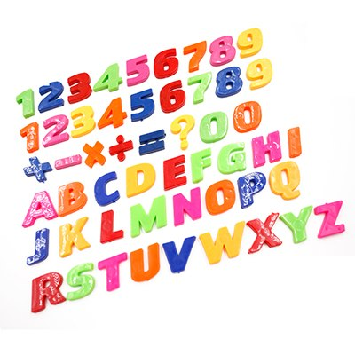 26pcs  DIY Number Stickers 26 Letters A-Z  Stickers Educational 3D English Alphabet Stickers Whiteboard Baby Child Toy