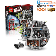 New LEPIN 05035 3803 pz Star Wars Death Star Building Blocks Bricks Toys Kit Minifigure Compatible with legeod 10188 Child Gift