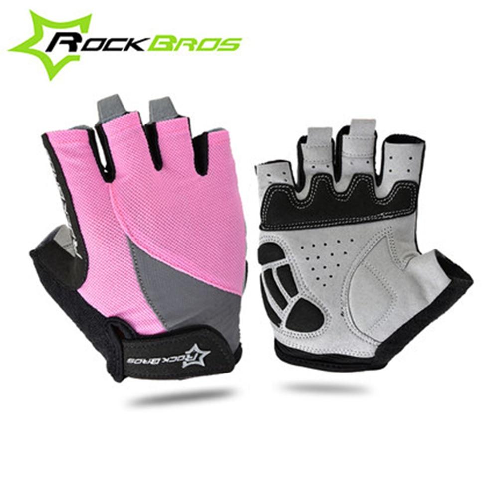 Rockbros Gel Sepeda Sarung Tangan Setengah Jari Hitam S Spec Dan S109 Bike Glove Half Finger Gray Luar Olahraga Unisex Musim Panas Bersepeda Pad Untuk