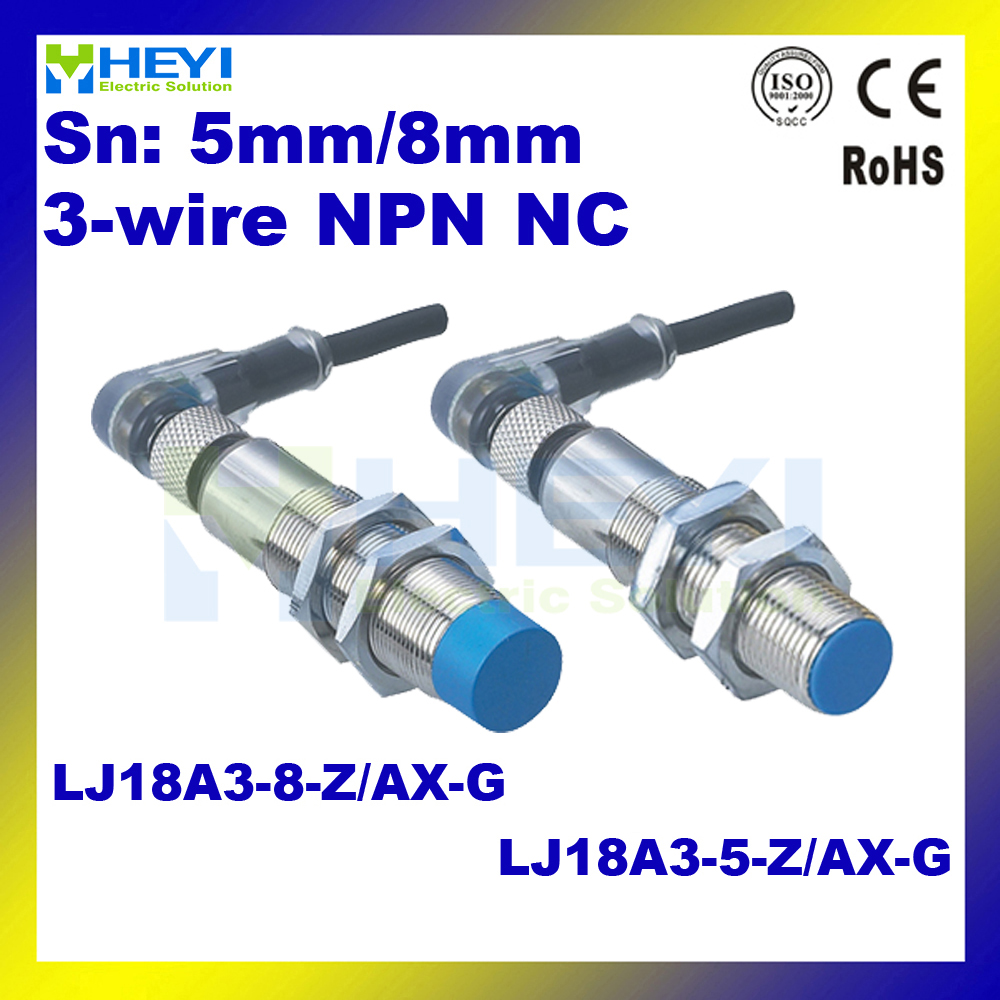 Npn Proximity Sensor Wiring Diagram Vehicle Diagrams 5 Wire Inductive Lj18a3 Z Ax G 8 6 36vdc 3 Rh Aliexpress Sensors