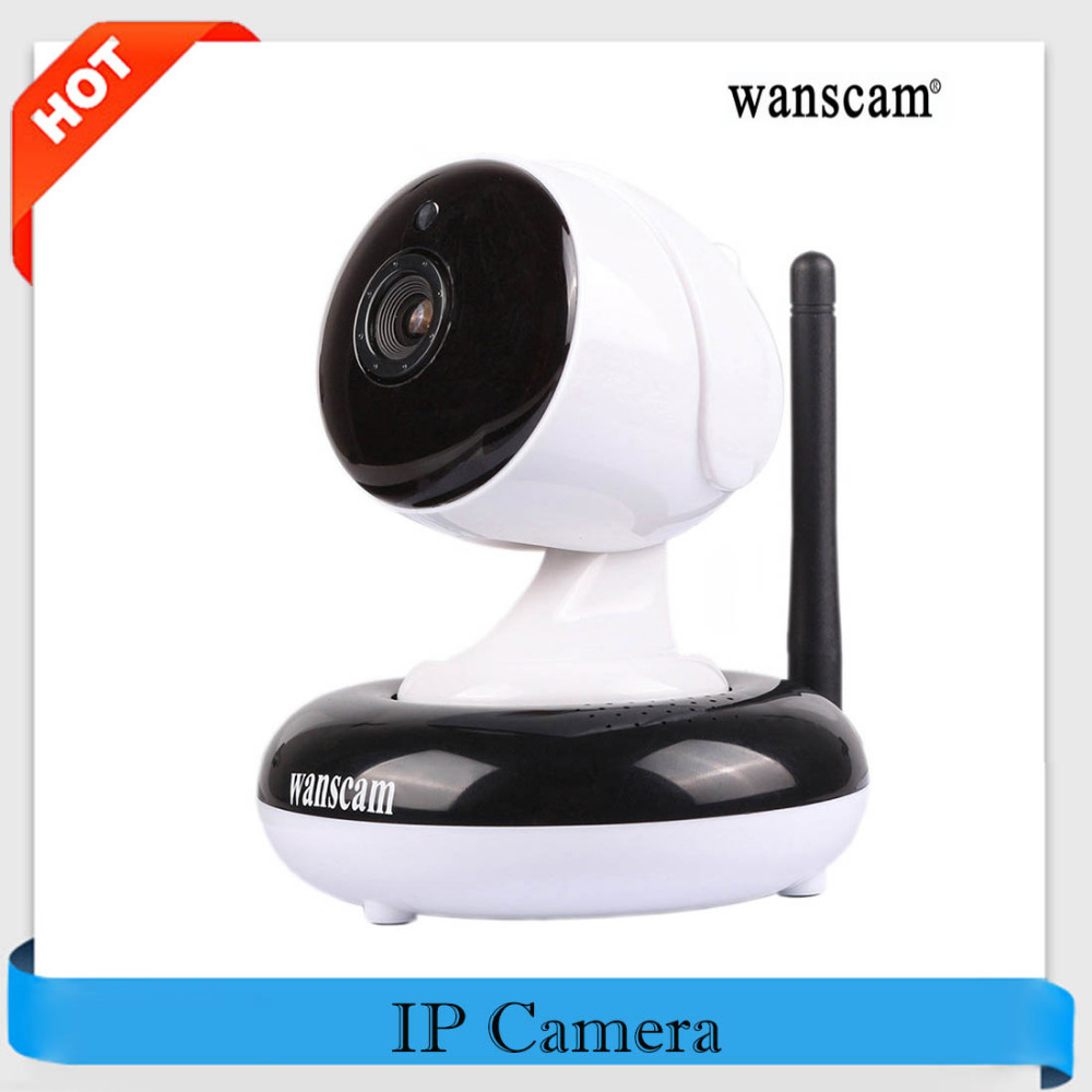 bilder für Wanscam ip kamera wifi hw0049 hd 720 p onvif wasserdicht p2p pan/tilt wireless ip cam indoor nachtsicht sicherheit zweiwege-audio
