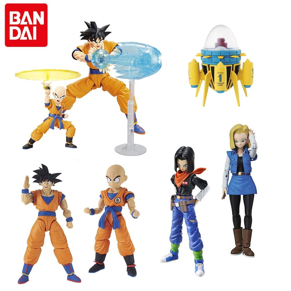 Bandai Gundam Figures Assemble Toy Dragon Ball Z Son Gokou HGD-219761 HGD-215638 HGD-215639 HGD-219763 HGD-219762 HGD-216395 стоимость