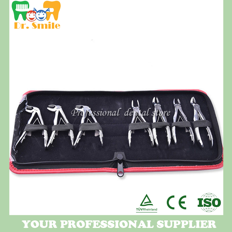 Dental forceps for children's tooth forceps set of 7 pieces of suit for children's tooth forceps good quality 2016 new dental forceps for children s tooth forceps set of 7 pieces of suit for children s tooth forceps