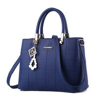 2017 Famous Brand Fashion Style Shoulder Bag Simple Pu Leather Female Handbags Large Capacity Women Messenger
