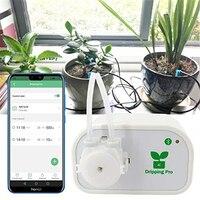 FIRMOR Plantas de Casa Inteligente de Controle De Telefone Celular Kit de Irrigação Por Gotejamento Automático Sistema de Rega Auto Temporizador Da Bomba De Água Do Sistema
