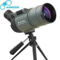 AOMEKIE 25 75x70 MAK Zoom Spotting Scope With Tripod For Birdwatching Waterproof Long Range Target HD