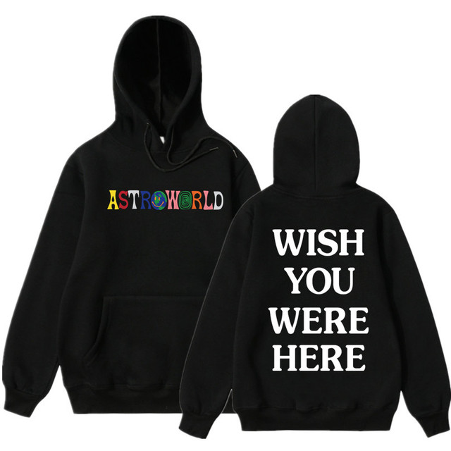 ebe624354891f6 Astroworld Wish You Were Here Hoodies Fashion Letter Astroworld Hoodie  Streetwear Man Woman Suprem Pullover Sweatshirt