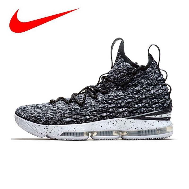 f270927f3d6e Detail Feedback Questions about Nike Lebron 15 LBJ15 Breathable Original  New Arrival Offical Men s Basketball Shoes Sports Sneakers Trainers on ...