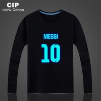 Lionel Messi Shirt Children S Clothing Boy Brand Children Kids Tops Clothes Boys Girls Long Sleeve