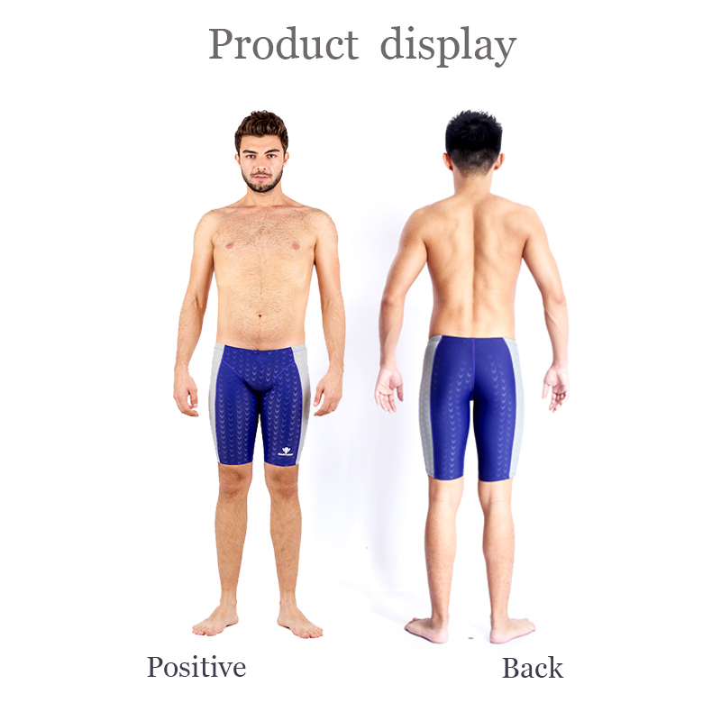 961d40241a HXBY Competition Racing Swimwear Men Swimming Trunks Men's Swimming  Sharkskin Swimsuit Men Training Jammer Mens Swim Shorts 5XL-in Body Suits  from Sports ...